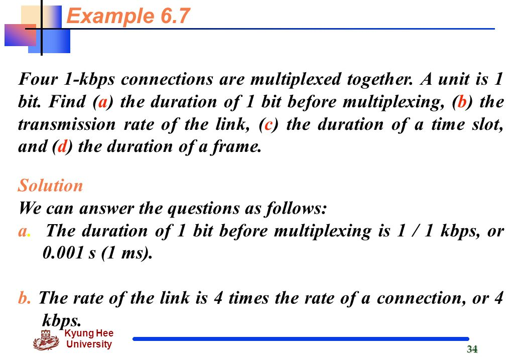 Bandwidth Utilization: Multiplexing and Spreading - ppt video online
