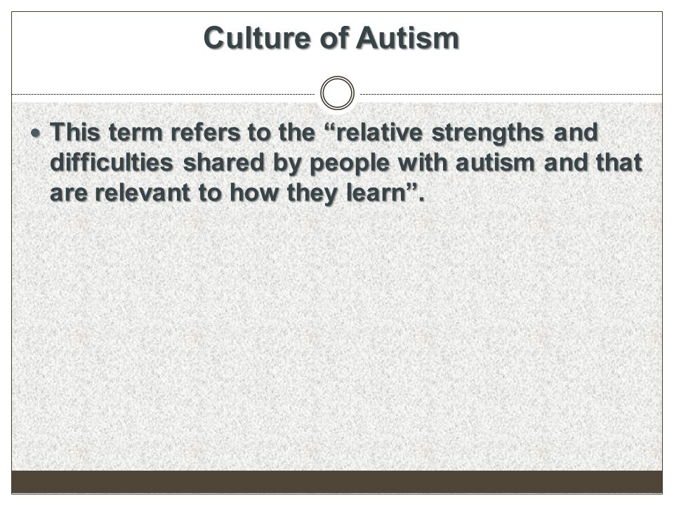 treatment for autism spectrum disorders ppt download