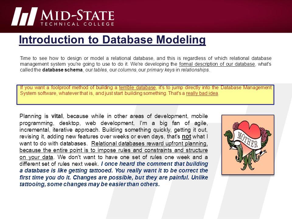 Unit 1 Database Design Instructor Brent Presley Ppt Download