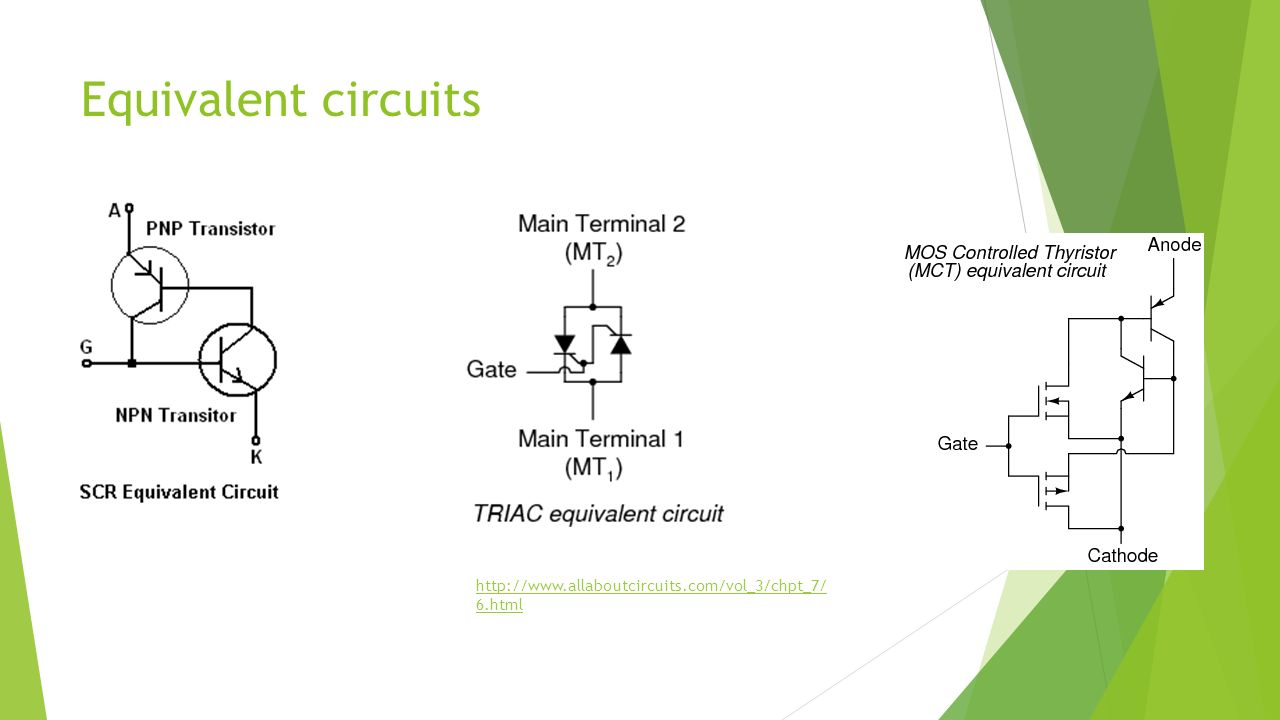 Thyristor Structure Specifications And Applications Ppt Download Scr Circuits 6 Equivalent