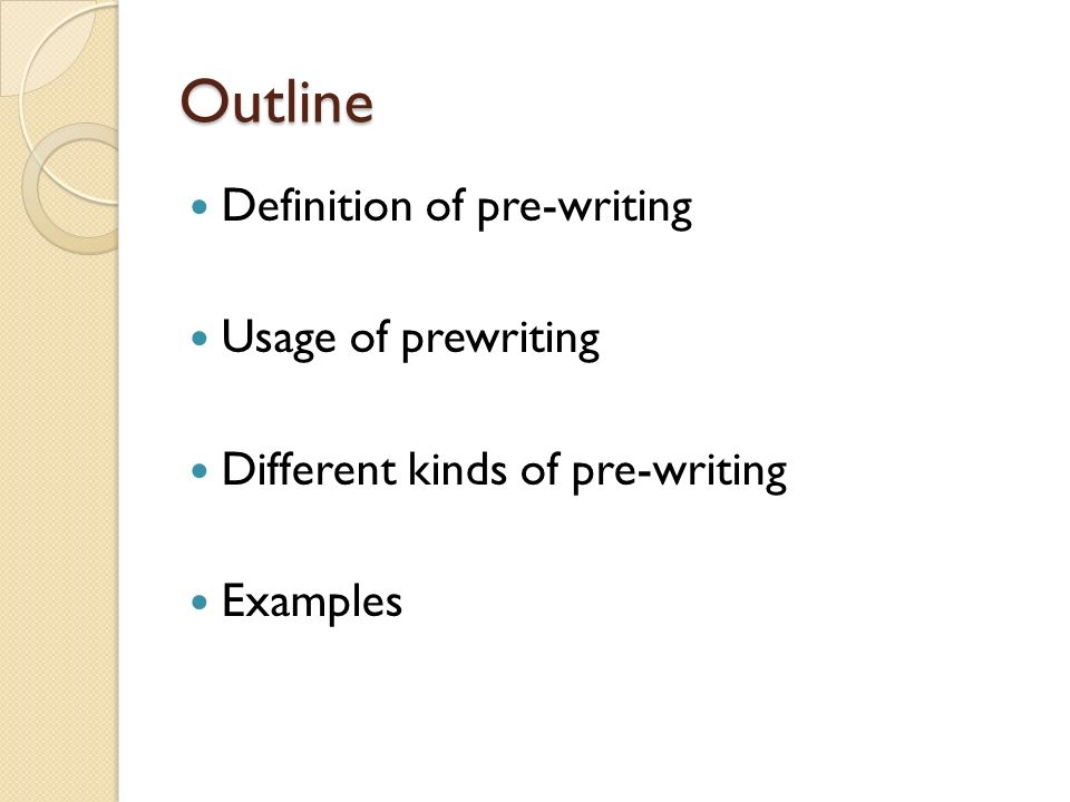 different kinds of letters and its meaning pre writing strategies ppt 17890