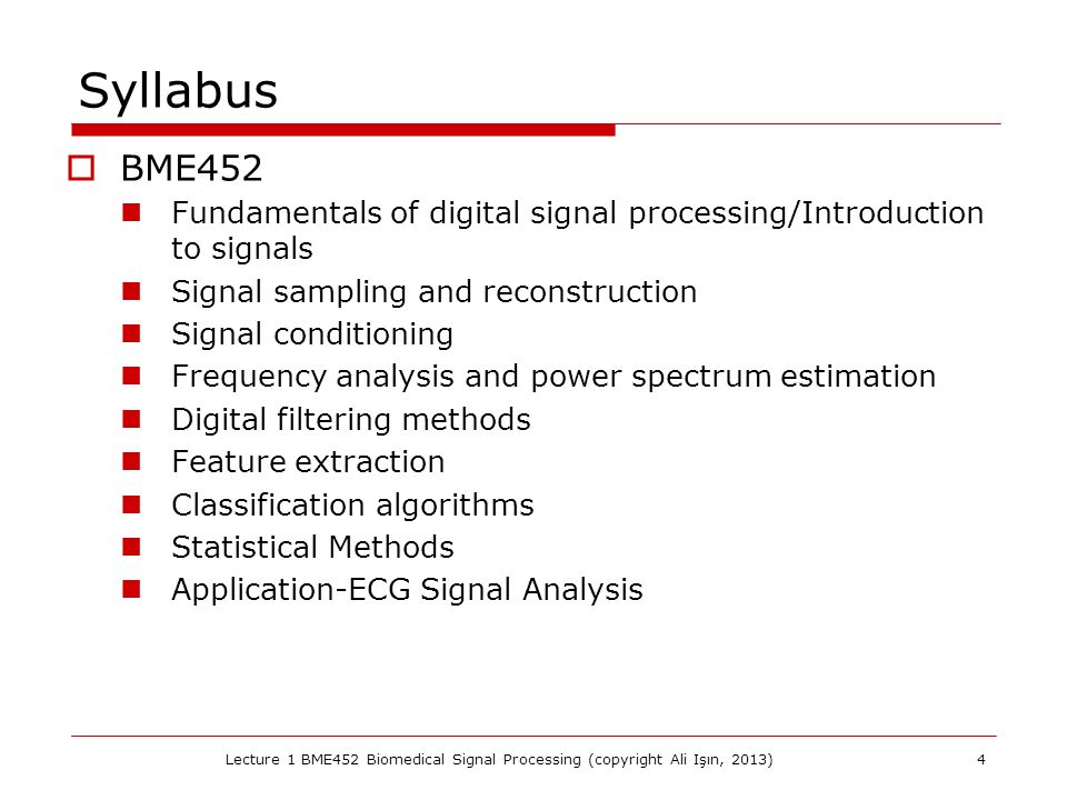 Signal processing applications ppt