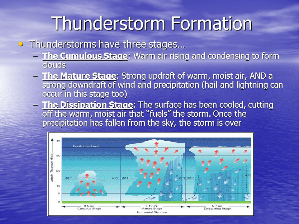 Diagram Of A Thunderstorm Forming Diy Enthusiasts Wiring Diagrams