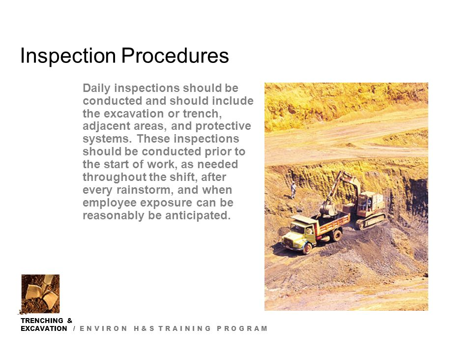 TRENCHING EXCAVATION Ppt Video Online Download