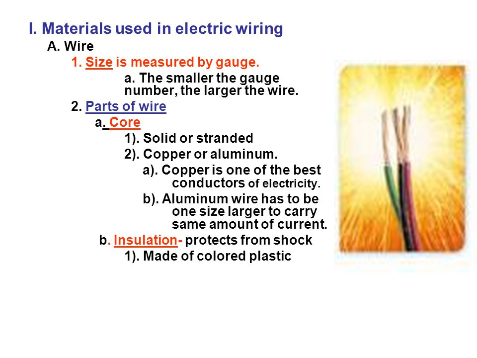 Electrical Installation AMI ppt download