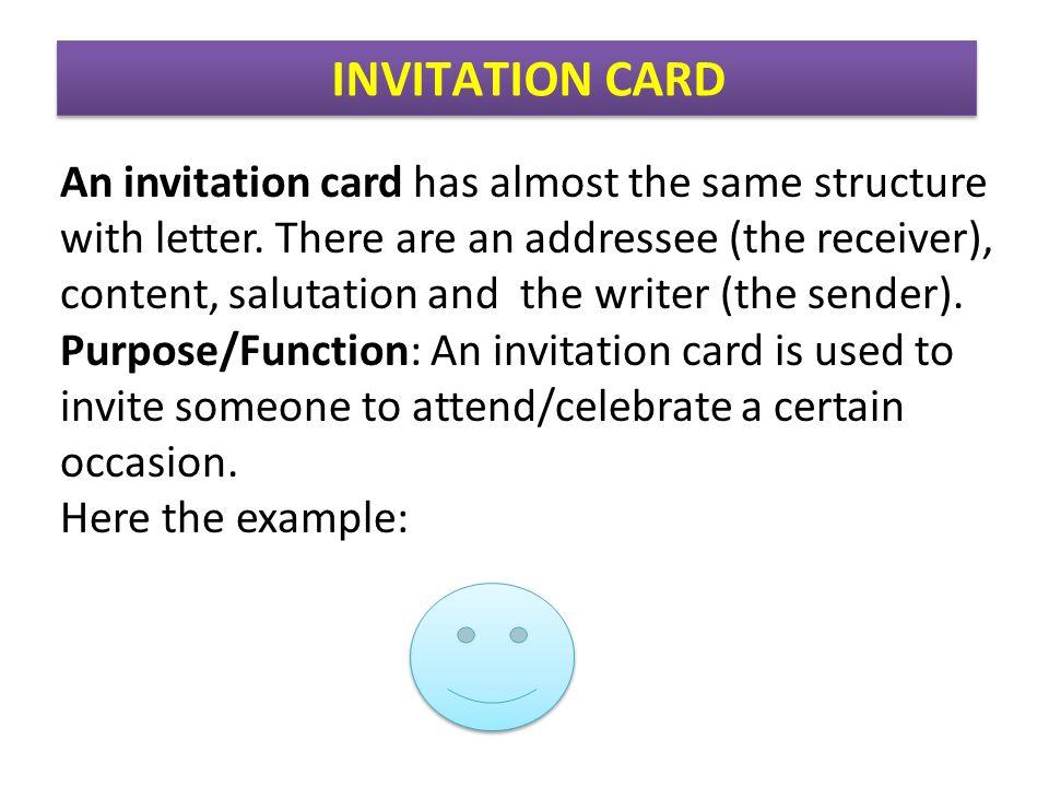 Teks fungsional pendek ppt download invitation card stopboris Choice Image