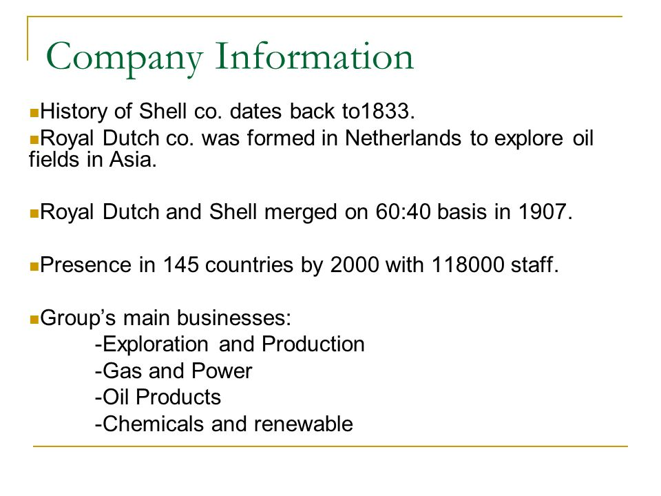 Case Study: Royal Dutch/Shell 'Oil Reserves' Controversy