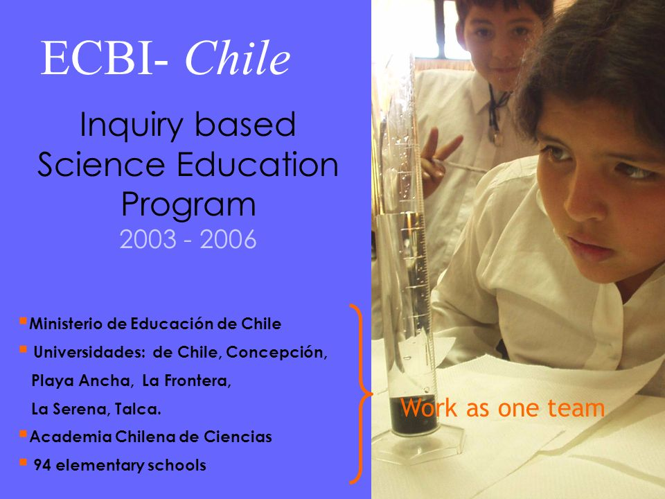 Inquiry based Science Education Program