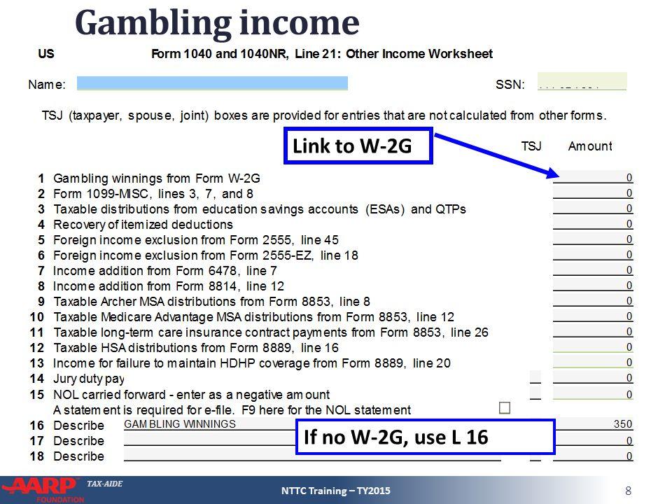Other Income Form 1040 Line 21 Pub 4012 Pages D 3 And D 4 Pub