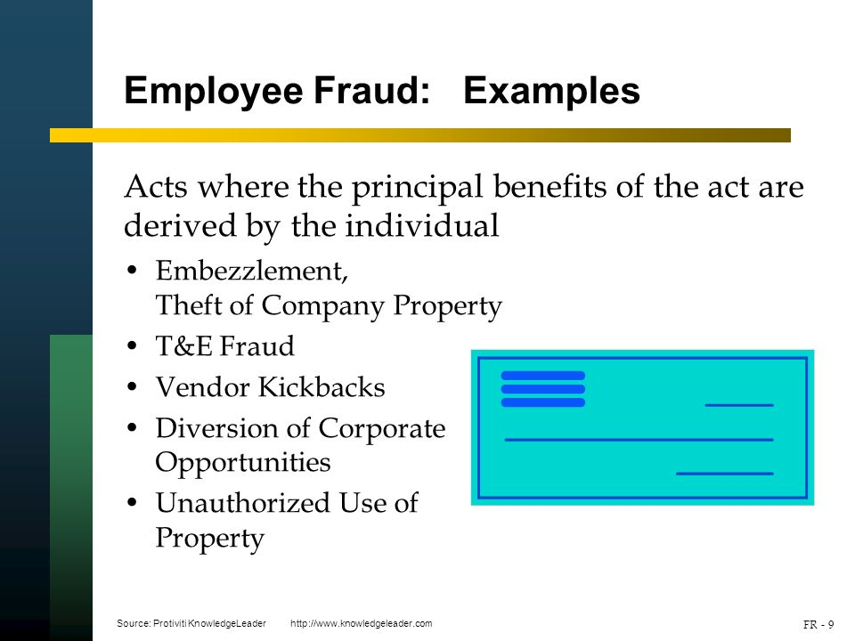 9 Employee Fraud Examples