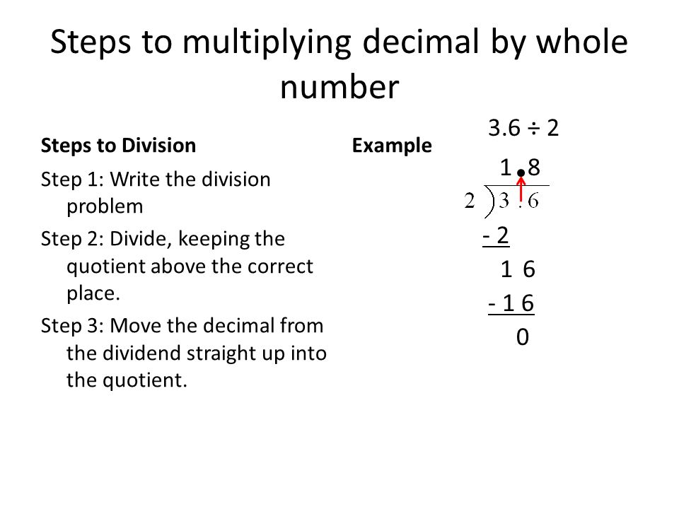 Multiplication and Division of Decimals Unit - ppt download