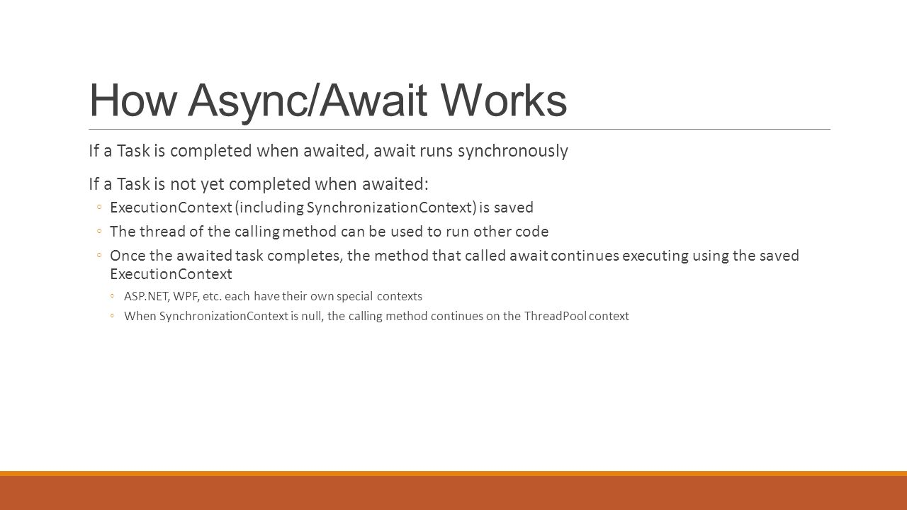 TAP into async programming - ppt video online download