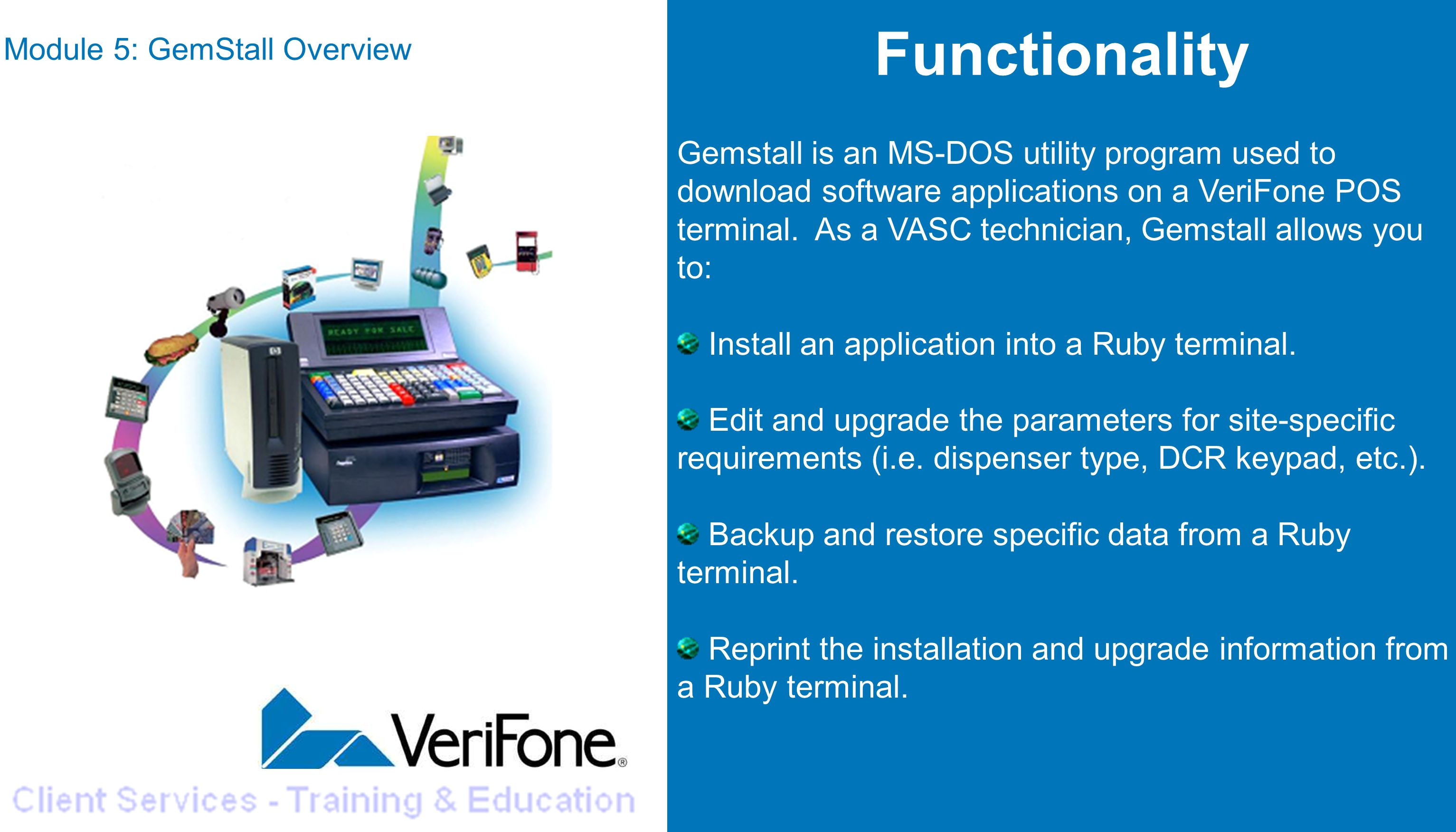 Module 5 GemStall Overview - ppt download