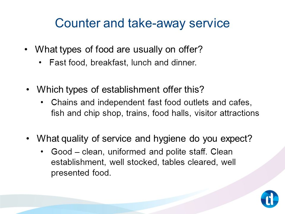 level 2 hospitality and catering principles  food and