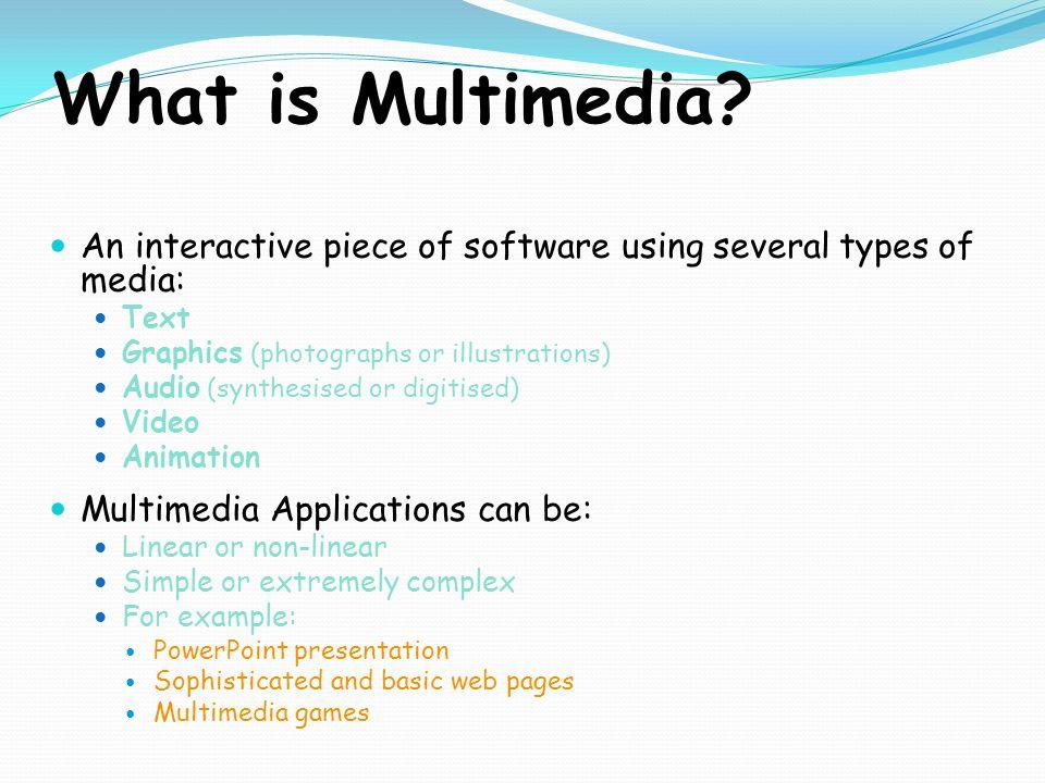 Multimedia presentation circles.