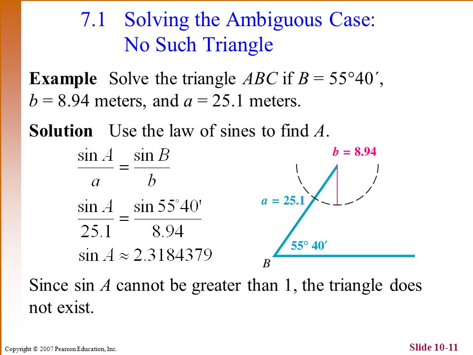 Law Of Sines Ambiguous Case Worksheet Choice For. 71 The Law Of Sines Congruence Axioms Ppt Download. Worksheet. Law Of Sines Ambiguous Case Worksheet Kuta At Mspartners.co