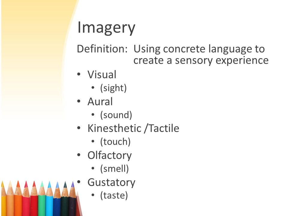 Appealing To The Senses Ppt Video Online Download