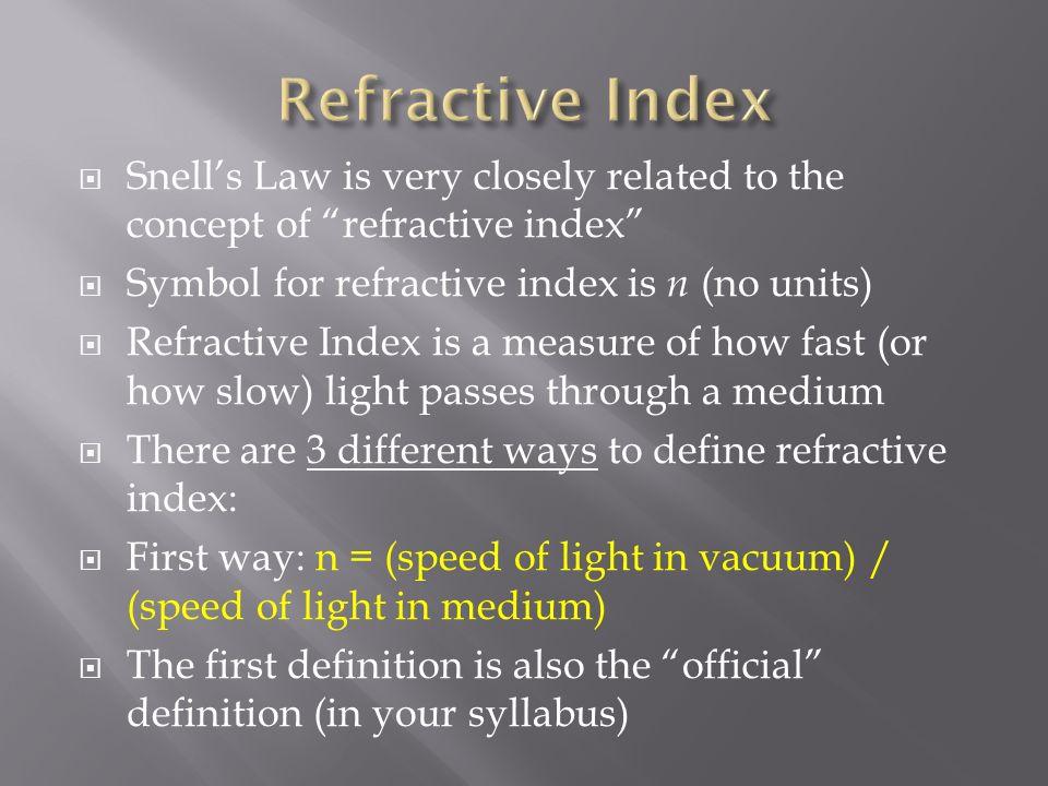 Light Optics Part 2 Refraction Ppt Video Online Download
