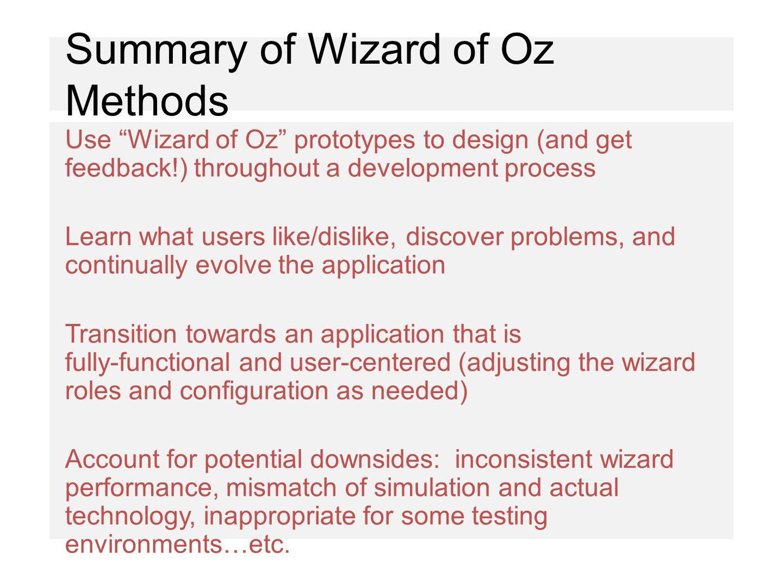 wizard of oz summary