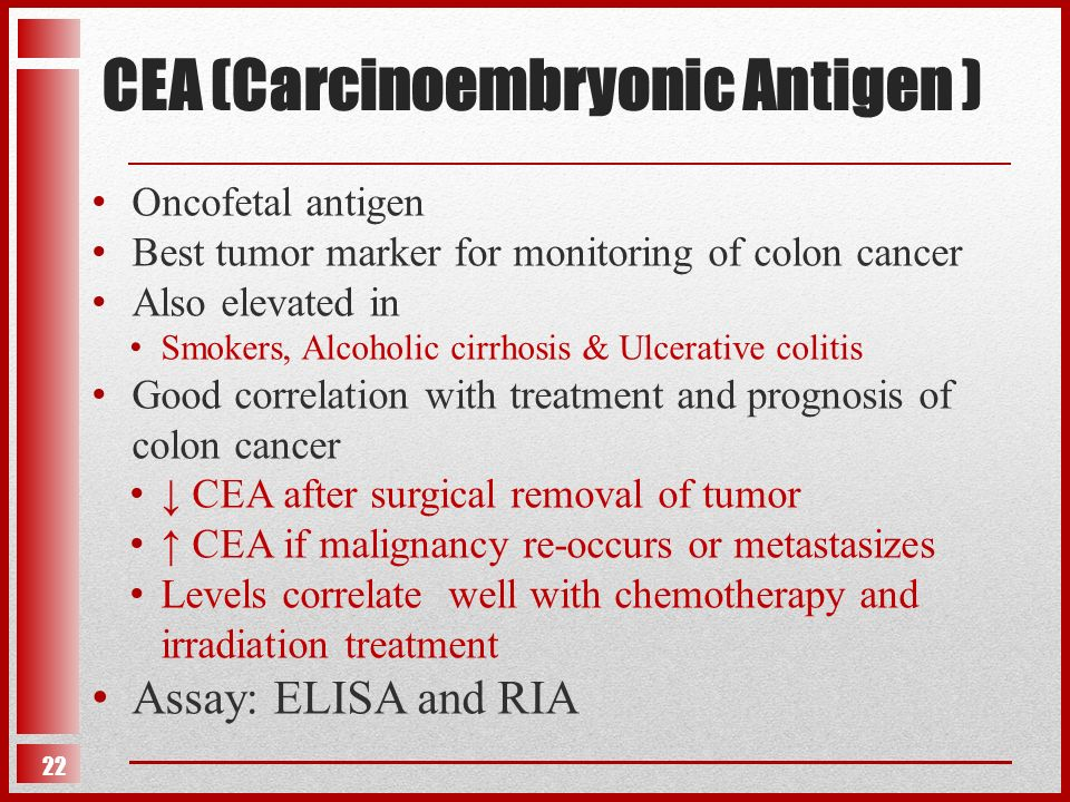 Tumor Markers Ppt Video Online Download