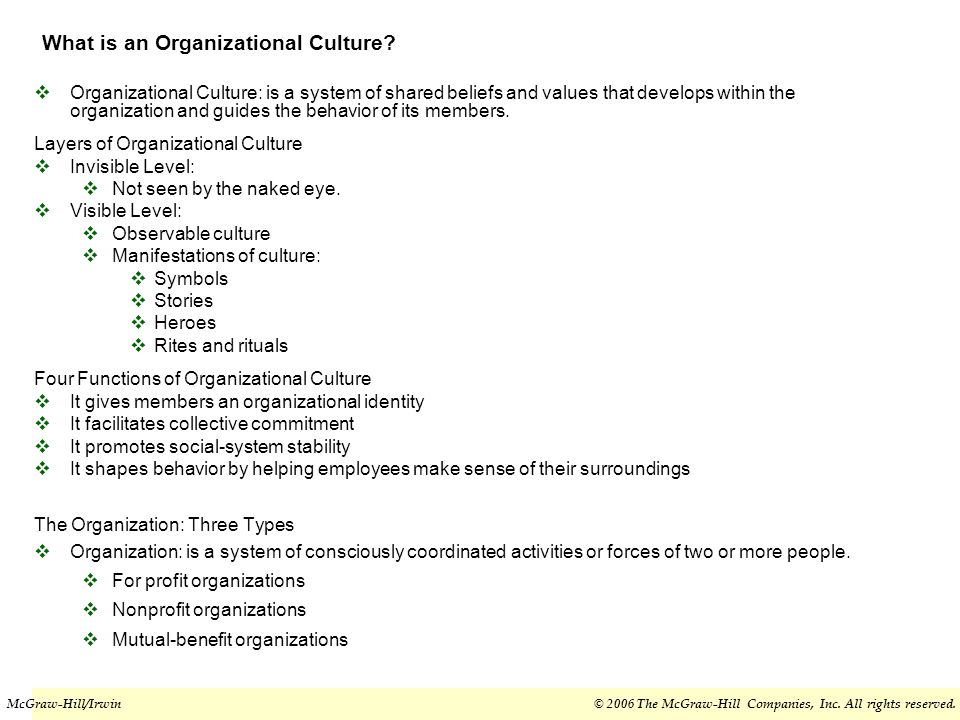 Chapter Eight Organizational Culture Structure Design Building