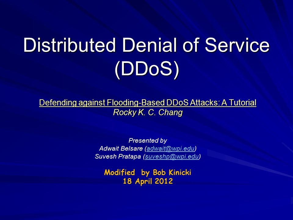 distributed denial of service attacks essay Research denial-of-service attacks (dos) and distributed denial-of-service attacks (ddos) compose a 1-2 page paper giving an explanation on each type of network.