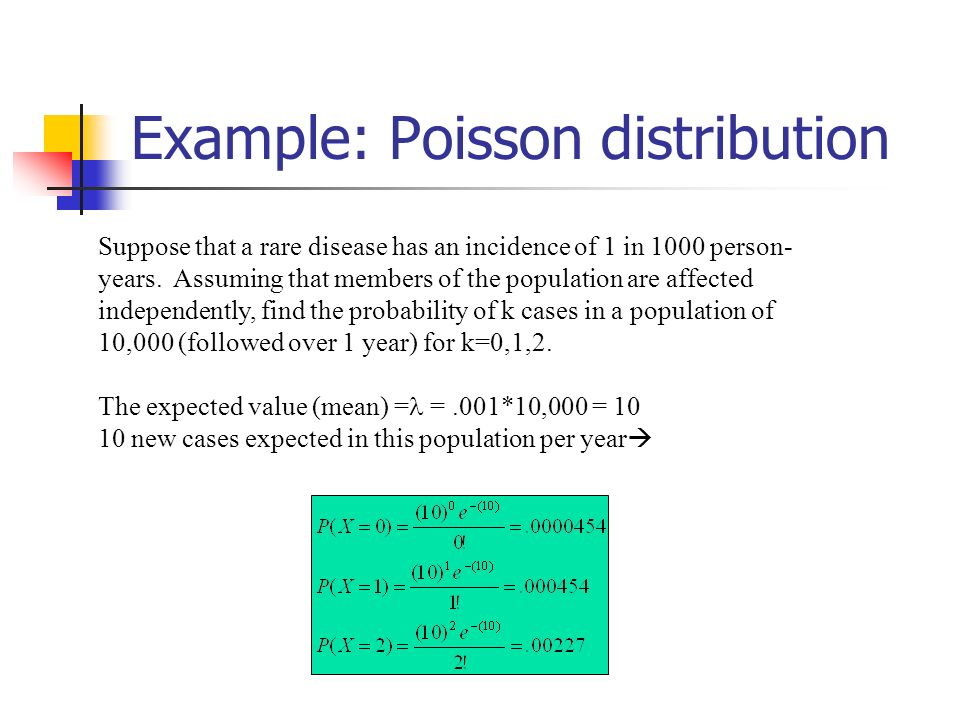 Examples Of Discrete Probability Distributions Ppt Video Online