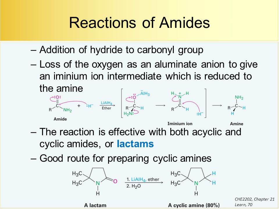 Chapter 21 Carboxylic Acid Derivatives: Nucleophilic Acyl