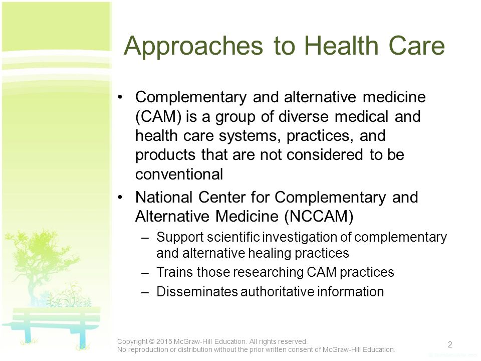 National center for complementary and alternative medicine what is cam