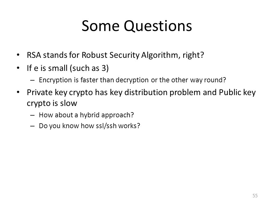 Lecture 3: Cryptography II - ppt video online download