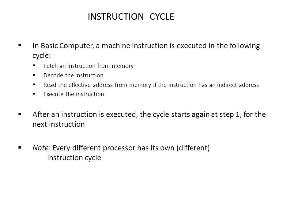 fetch decode execute cycle pdf