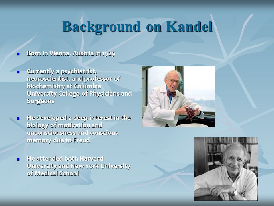 Eric Kandel and the Hippocampus - ppt video online download
