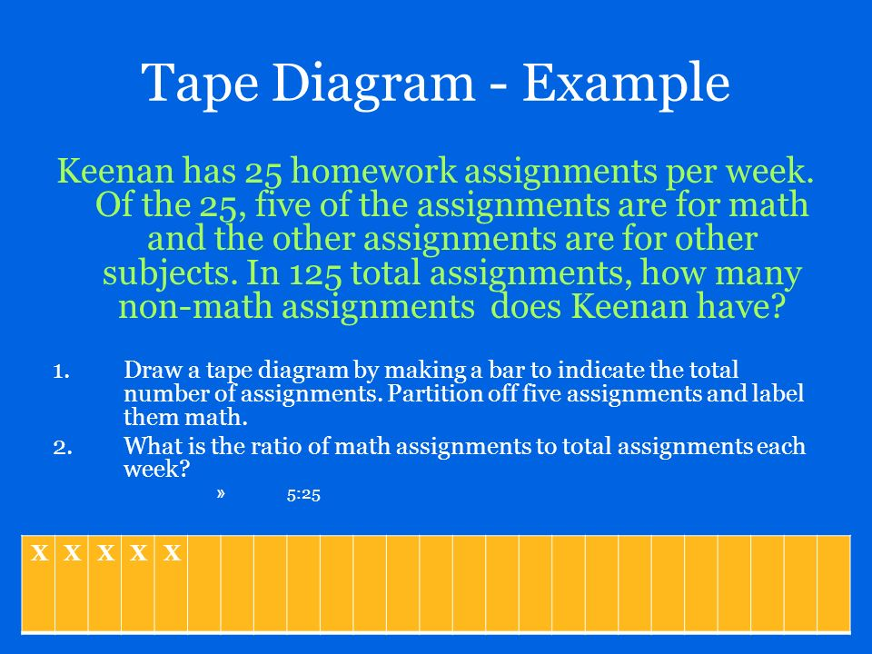 Part 1 concrete models tape diagrams ppt download tape diagram example ccuart Choice Image