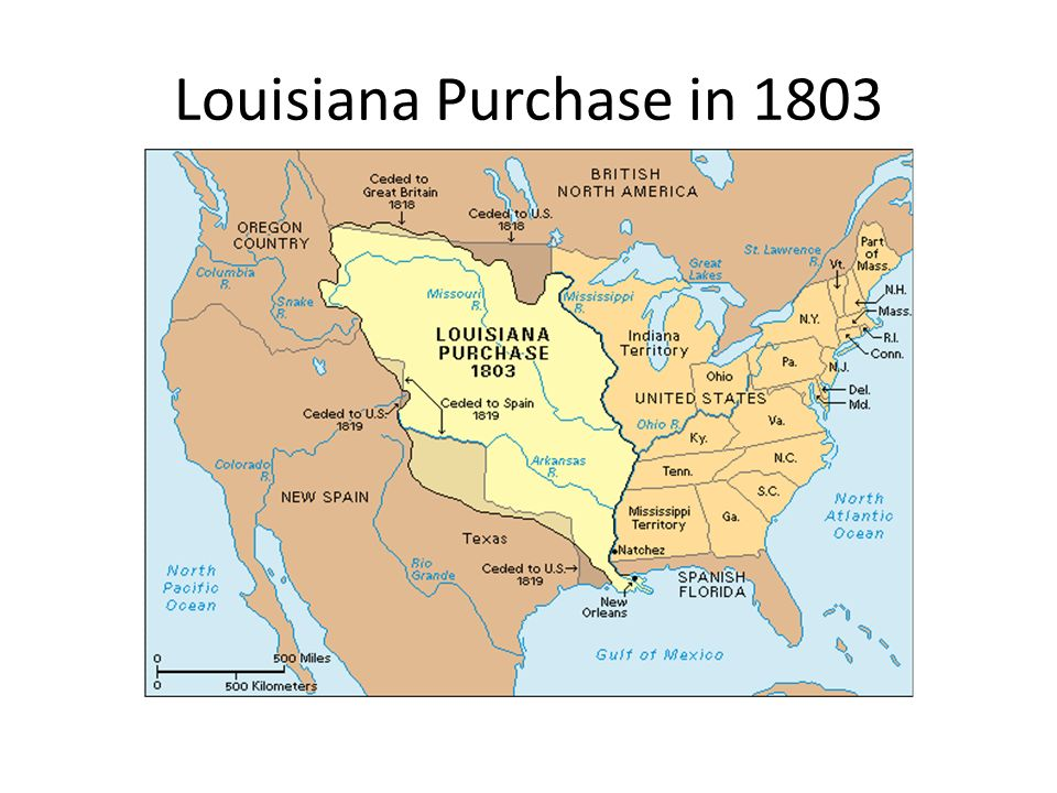 Elegant 2 Louisiana Purchase In 1803