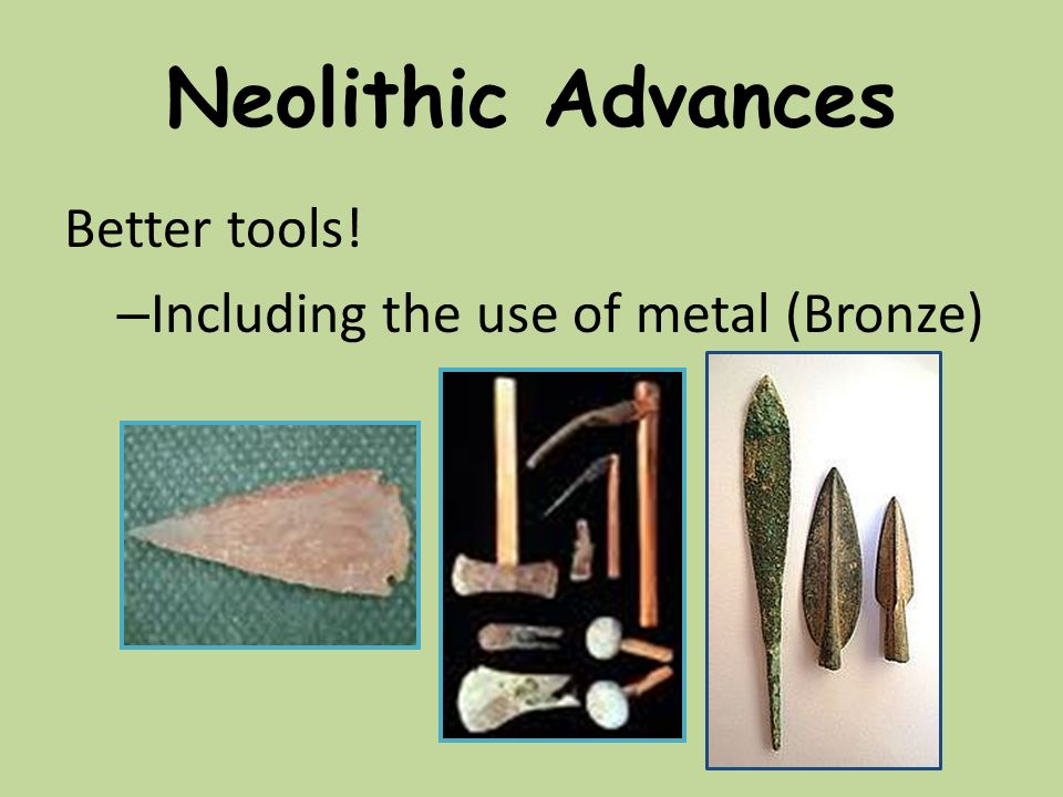 neolithic tools and their uses