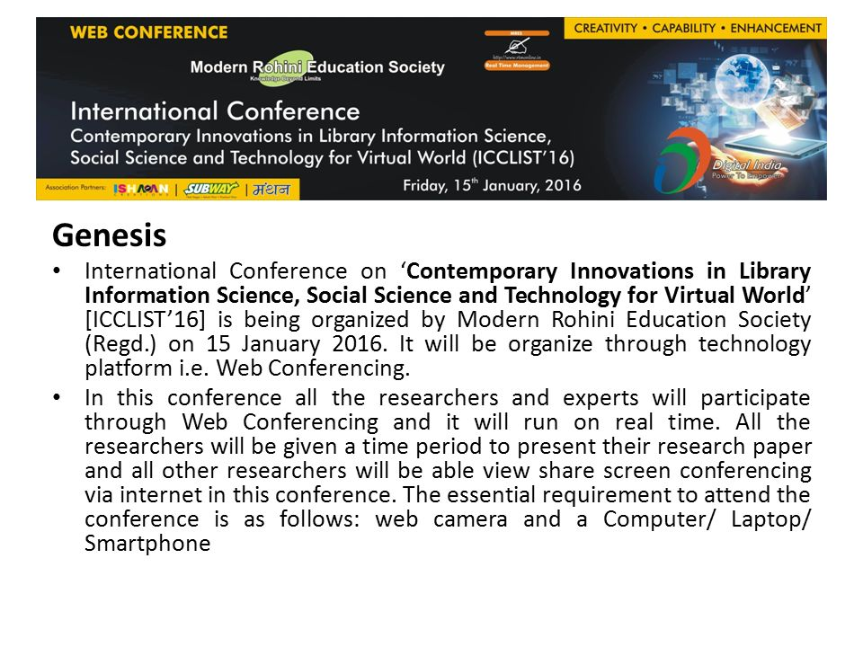 International Conference on Contemporary Innovations in Library