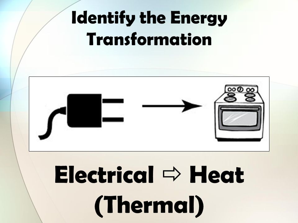 Identify all the forms of energy you see in the picture below. - ppt ...