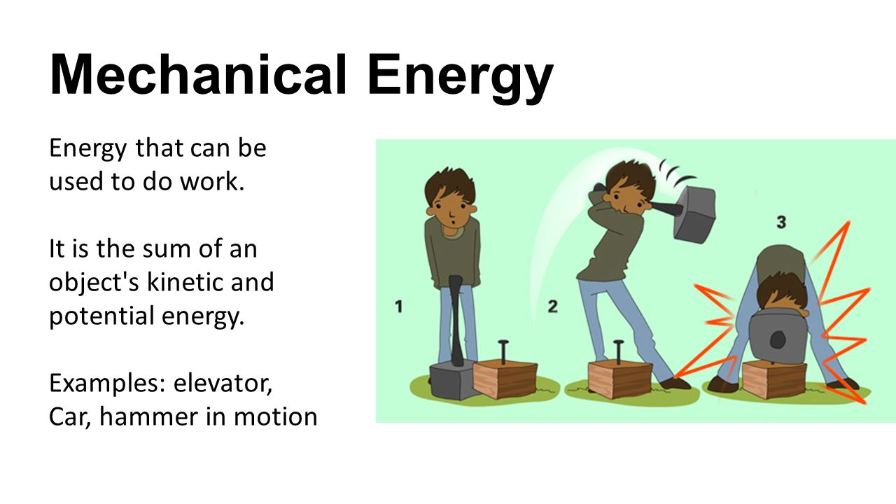 forms of energy energy  u2013 the ability to do work or cause
