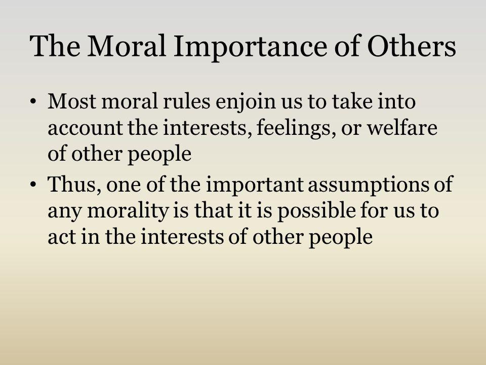 egoism vs altruism philosophy