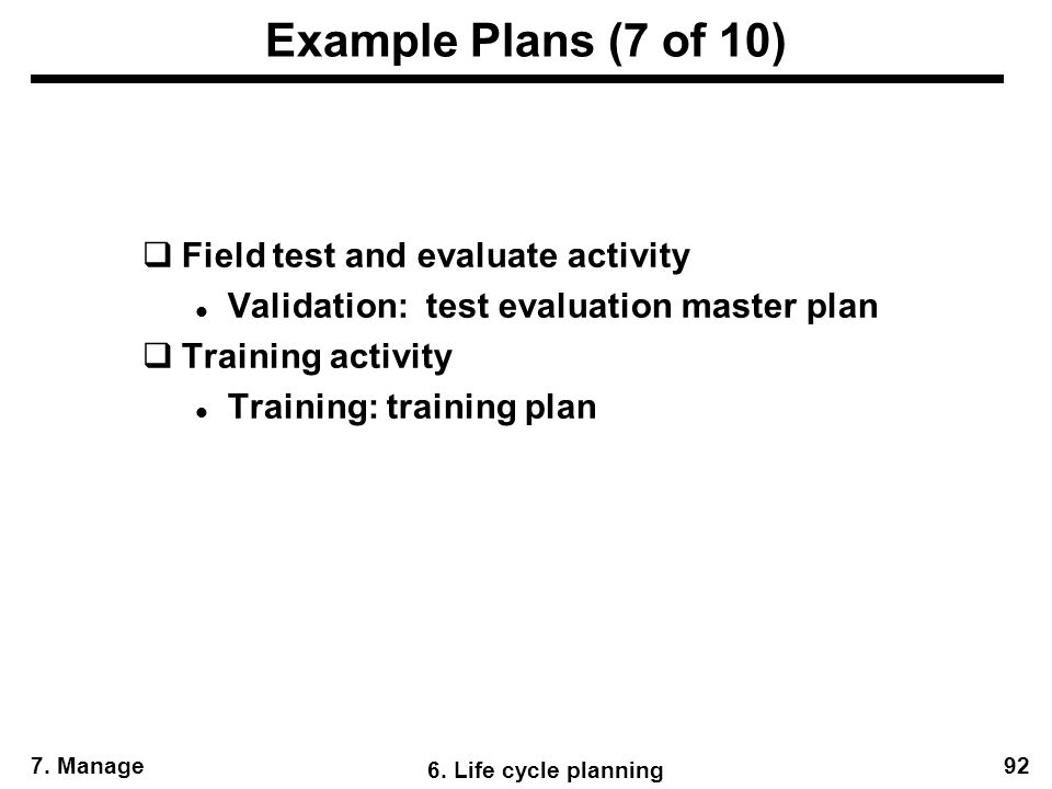 Agenda For Manage Activity