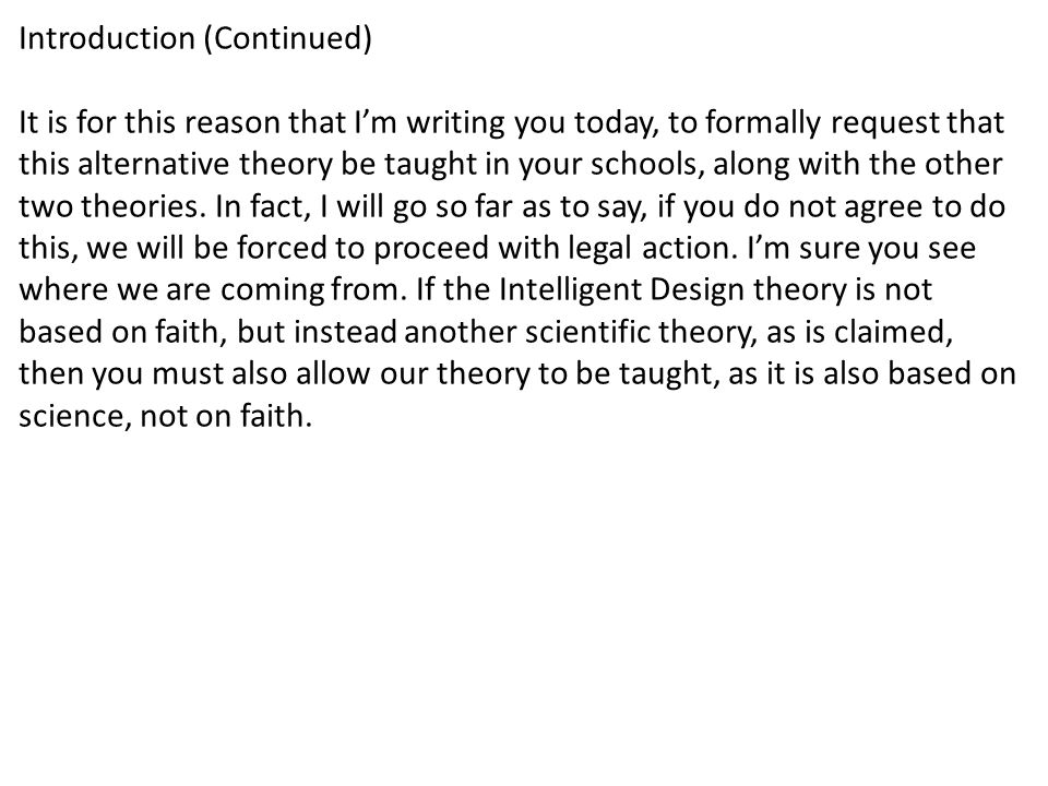 Free Write An Open Letter to the Kansas State School Board from