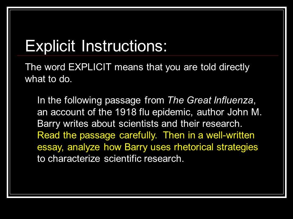 the great influenza john barry summary