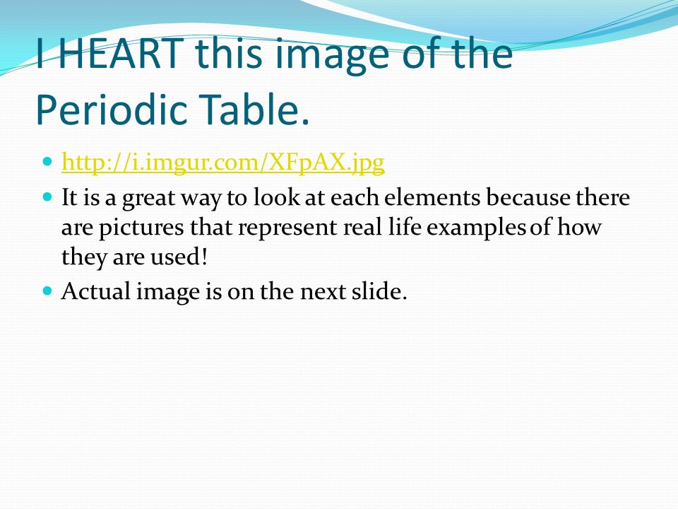 Some Images Are From Periodic Table Some Images Are From Ppt Video