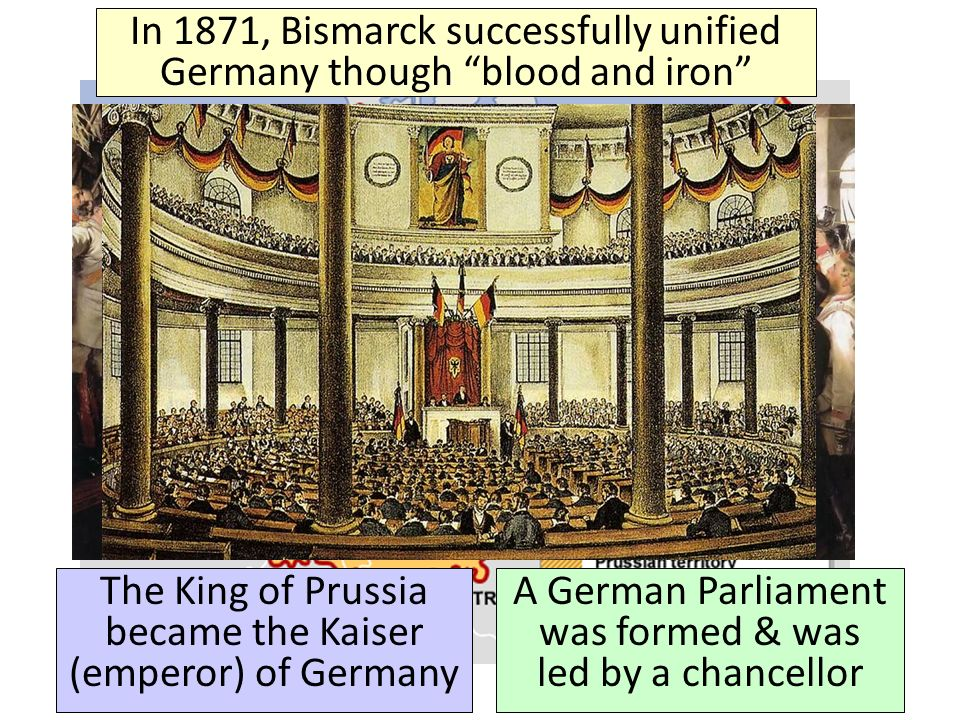 why was germany unified under prussia and Free college essay was germany unified by austria and prussia where were the two dominant states within the german confederation the 1848 revolutions had caused an emergence of a middle class who was interested in the political affairs of germany.