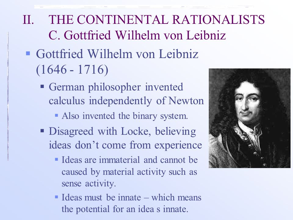what did gottfried wilhelm von leibniz invented