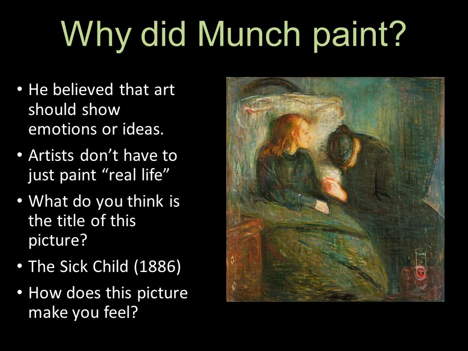 the sick child edvard munch analysis