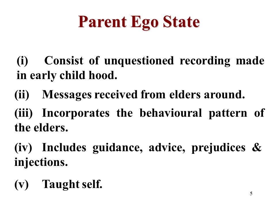 parent ego