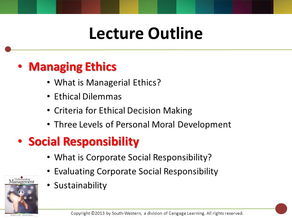 evaluating the social ethical and economic Chapter 4 managerial ethics and corporate social responsibility the situation at timberland illustrates how difficult ethical issues can be and symbol-izes the growing importance of discussing ethics and social responsibility.
