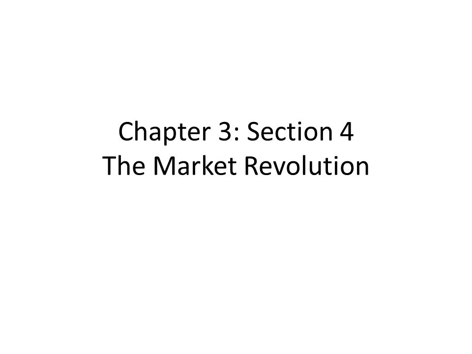 social impact of the market revolution But today, the economic benefits of the fourth industrial revolution are becoming more concentrated among a small group this increasing inequality can lead to political polarization, social fragmentation, and lack of trust in institutions.