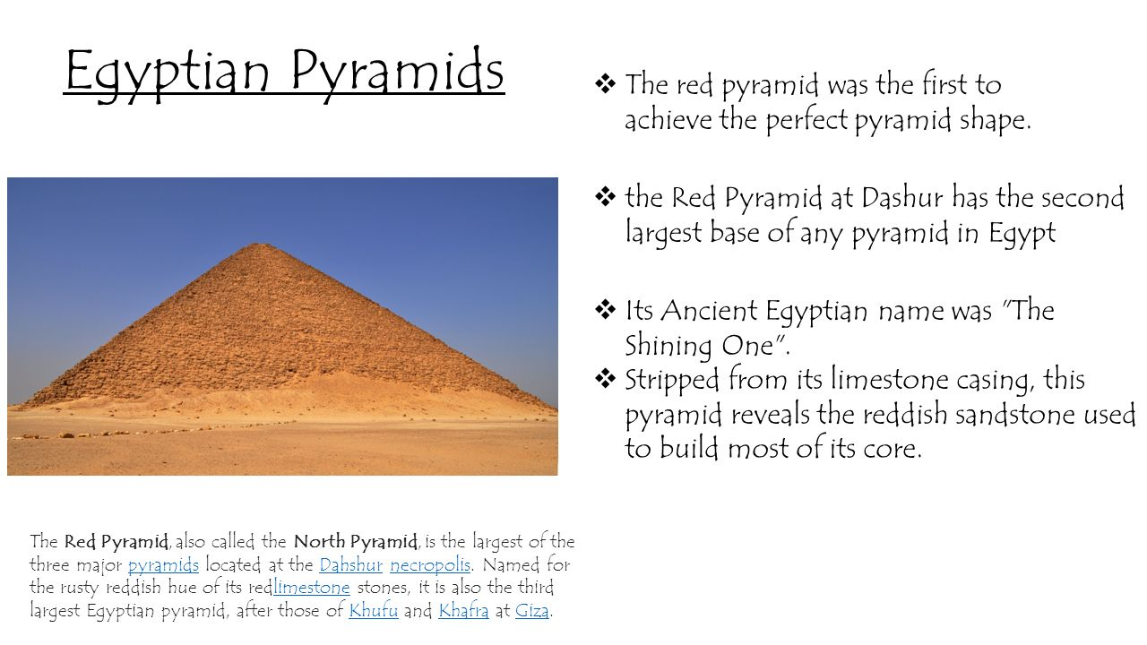 In pyramids egypt of names Egyptian Pyramids